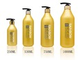 250ML, 530ML,750ML,1000ML PET bottle with lotion pump