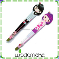 Japanese dolls eyebrow tweezers girl eyebrow tweezers