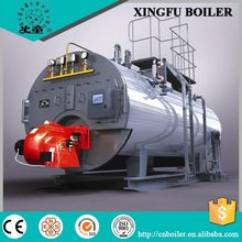 natural gas fired steam boiler for industrial