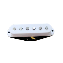 Custom musical guitar parts hot St pickups with flat Alnico V magnet pole pieces replica 60s vintage sound pickup