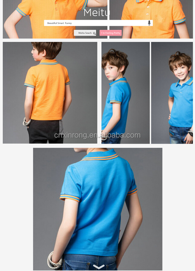 kids polo shirts wholesale china manufacture cheap high quality T-shirts