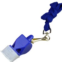 OEM wholesale in bulk plastic Fox 640 whistle police sports whistle football referee whistle