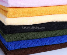 Chinese microfiber dust cloth manufacture factory