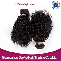 Wholesale human hair Extensions Curly Wave Braiding Hair Malaysian Curly Hair
