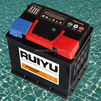 Auto spare parts 56049 DIN 60 12V 60AH Auto batteries Car battery 60 amp