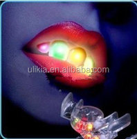 Flashing Rainbow LED Mouthpiece Teeth Light Party Halloween