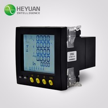 Heyuan multi-functional three phase digital energy meter power meter with rs 485 modbus