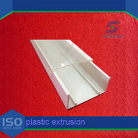 Polycarbonate Extrusion Lampshade/PC Profile for LED shell