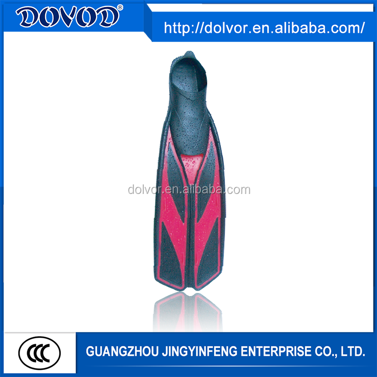 PP + TPR or silicone material diving equipment diving fins prices