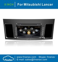 A8 Chipset 3G WiFi Car DVD Video Player For Mitsubishi Lancer 2010-2011 With GPS Radio Bluetooth TV Ipod Free Map