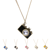 New Design Vintage Camera Shaped Pendant Necklace