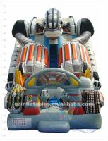 2016 (Qi Ling) giant robbert inflatable game for amusement
