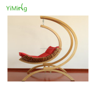 2016 design garden hammock outdoor solid wood swing chair