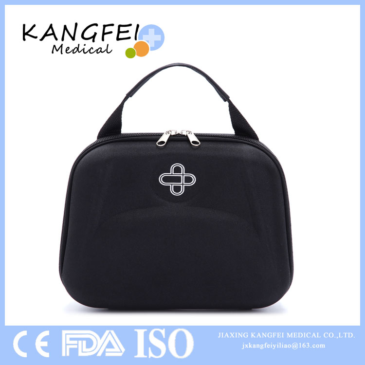 CE ISO FDA Approved KF24 Big Size Black Color EVA First Aid Box