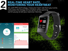 2017 heart rate band waterproof wireless bluetooth ...fitness wristband,wristband heart rate monitor