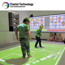 ChariotTech 2018 interactive floor kids game, interactive projection system with low price.