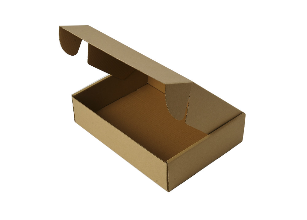 Garment package corrugated carton box for mailing use without crush