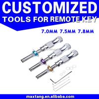3pcs Tubular Lock Pick Set China Supplier 7 Pins Tubular Lock Opening Tool LP001