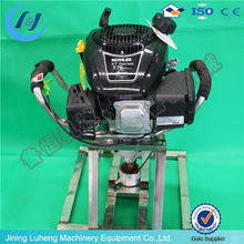 Gasoline engine 7.5 hp Portable Backpack Drilling Rig for Borehole