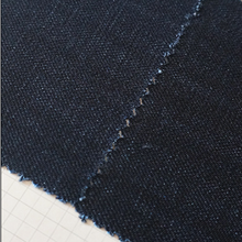 In stock cotton/polyester/spandex soften 12oz stretch denim fabric for making jeans
