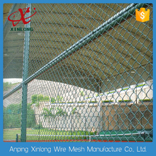 beautiful design high quality playground mesh fence/ isolation weaving frame diamond wire mesh fence