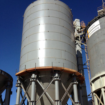 Different capacity High Quality Flake cement silo/pieces of cement silo