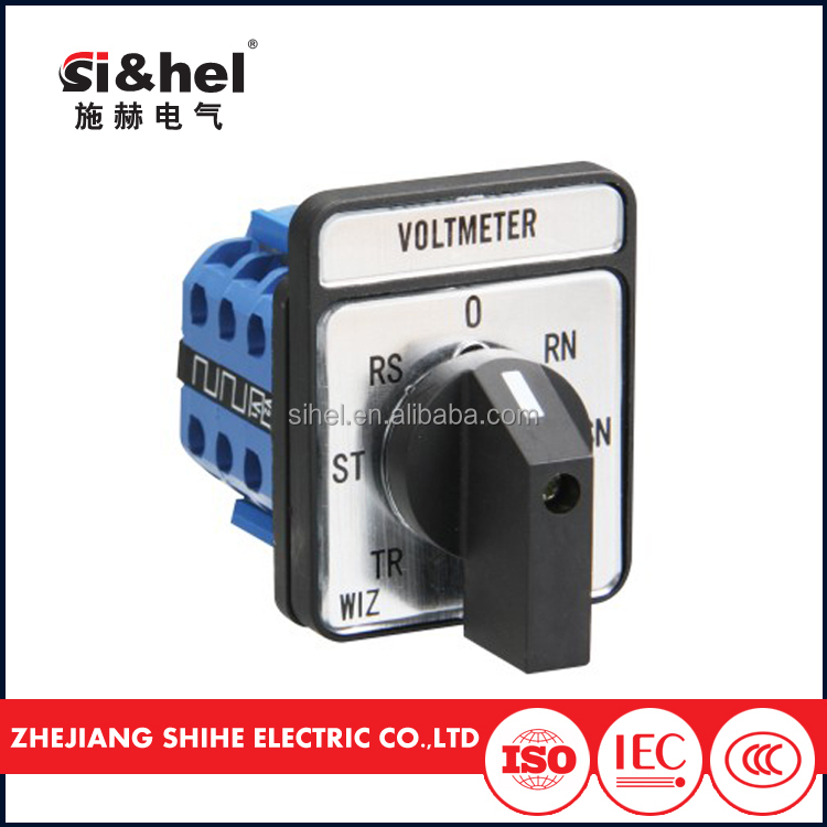 ac selector voltmeter ammeter rotary switch