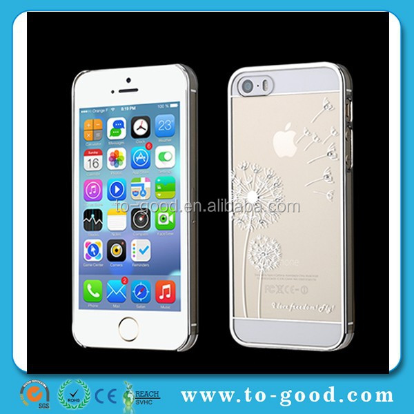 OEM Plastic Mobile Phone Case For iPhone 6,OEM Paintable Plastic Case For iPhone6(Silver)