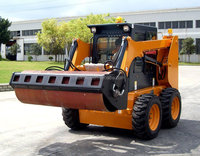 China Made Low Price Attachment Vibratory Roller For Skid Steer Loader Use