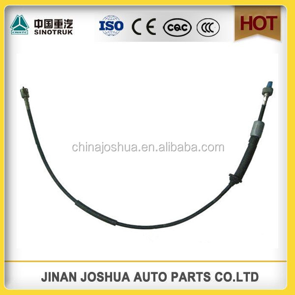 sinotruk howo dump truck part Clutch Cable dimensions for sale