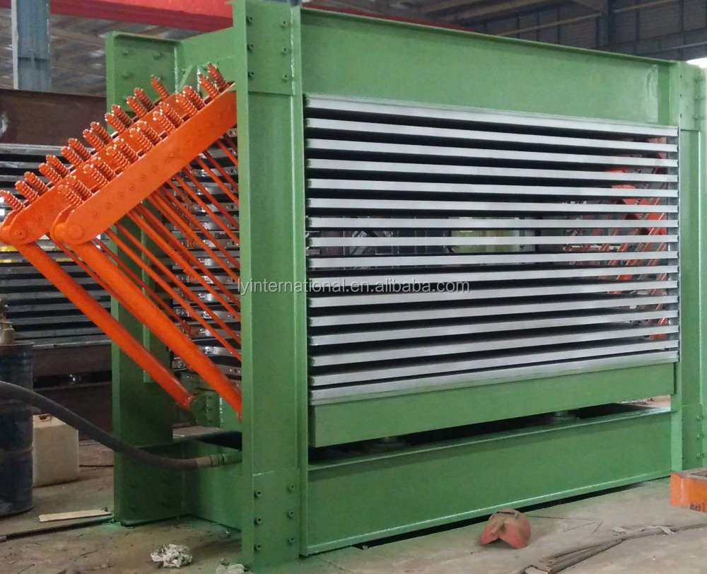 high durability hot press type wood veneer dryer