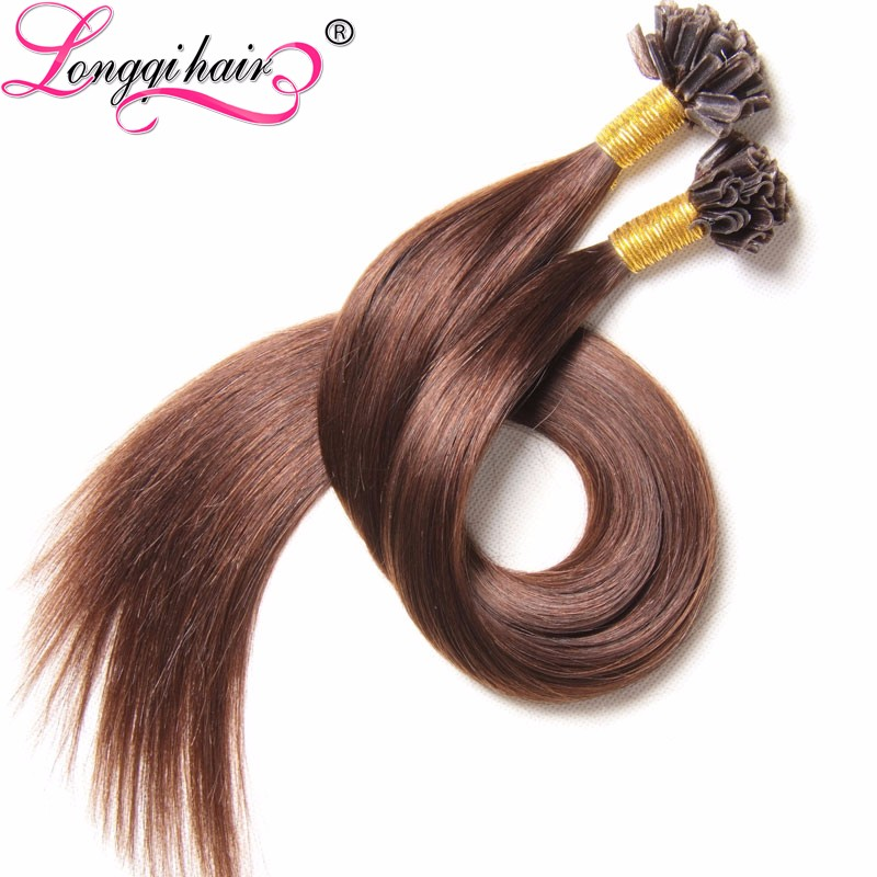 Natural Straight U Tip Human Hair U Tip Hair Russian Hair 1G Strands