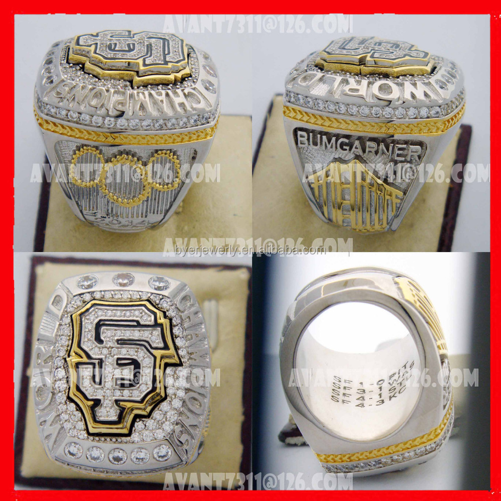 Cheap baseball world series championship ring customized for man