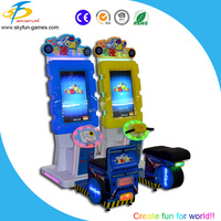 New Kids Carton Car Racing Game Machine Bulonb Simulation Racing