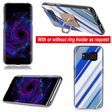 custom printing electroplate tpu mobile phone case For for Samsung galaxy S8