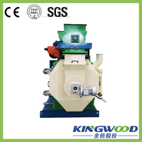 Jinwu CE/ SGS Ring Die Sawdust Briquetting Machine