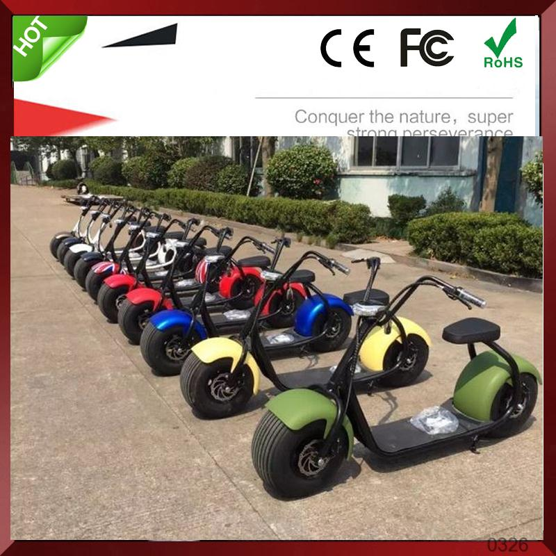 800w Electric citycoco harley davidsion motorcycle cool big two wheels scooter