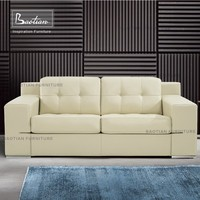 Made in china foshan furniture soft line leather sofas home furniture