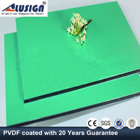 Alusign 4mm PVDF plastic aluminum composite panel china supplier