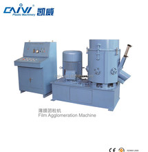 Plastic PE / PP / LDPE Film Recycling Agglomerator / Granulator Machine