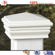 High quality polyurethane moulding 4k42 wood fence post caps