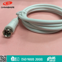Metal housing coaxial cable converter to vga TV Aerial Cable