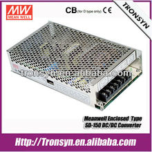 Meanwell SD-150-24 150W 24V 6.3A Single Output Enclosed DC DC Converter LED Power Supply