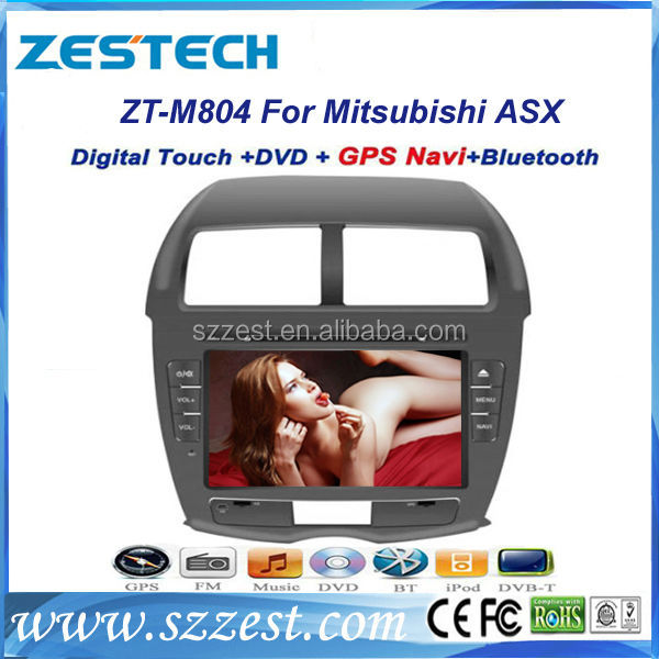 ZESTECH auto radio dvd for Mitsubishi ASX with DVD Player MP3 MP4 Player GPS