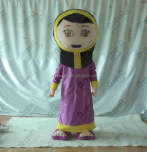 NO.2292 Arabic mascot costume women design