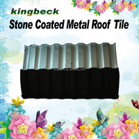 Milano galvanized antique metal roof sheet/metal roofing tiles