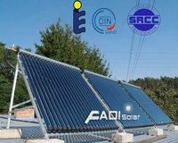 Fadi EN12975 Vacuum Tube Solar Collectors in Poland (20tube)