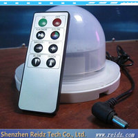 Factory wholesale remote controlled battery operated rgb led furniture light