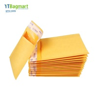 YTBagmart Custom Mailing Shipping Express Padded Mail Kraft Paper Warped Bag Bubble Envelope Mailer