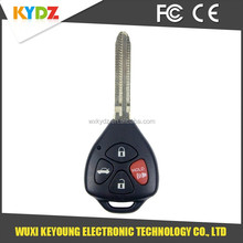 2008-2013 GQ4-29T G Chip 4 button Top quality car key alarm remote for Toyota /Corolla